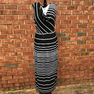 Valerie Bertinelli Sz 6 Maxi Dress